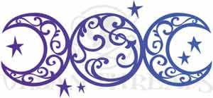 moon goddess tattoo