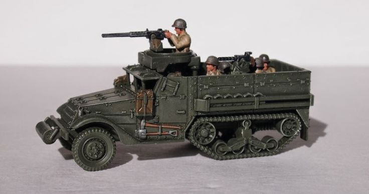 The Troubles of Raising an Army: Plastic Soldier Company 1/72 Us Allied M3 Halftrack WIP
