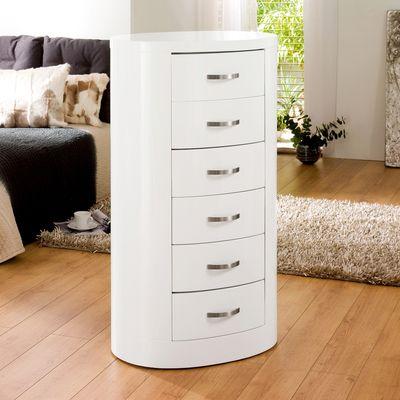 dwell - Capri chest of drawers white - £399