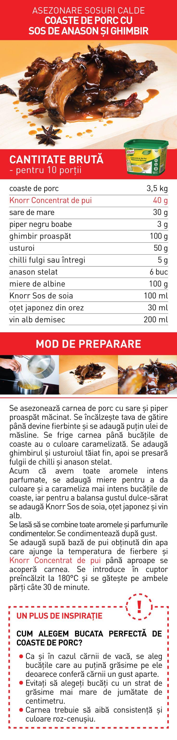 Asezonare sosuri calde (II) - RETETE