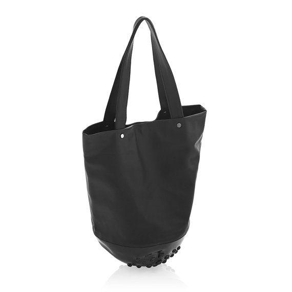 Tote bag / shoulder tote bag / large black tote / by MeDusaBags