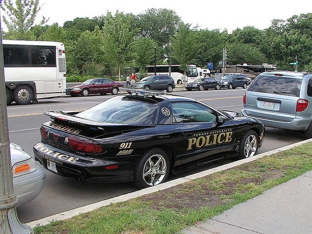 Pontiac Trans AM Police Car