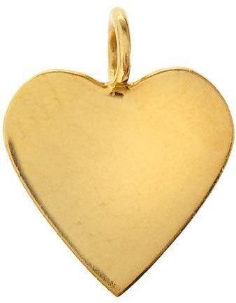 Sarah Chloe Lily Heart Charm