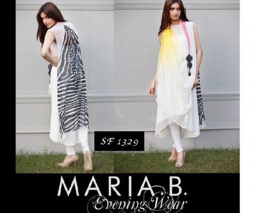 maria b girls party wear dresses 2014