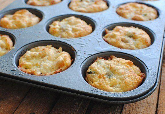 Куриные кексы с сыром — Вкуснота!