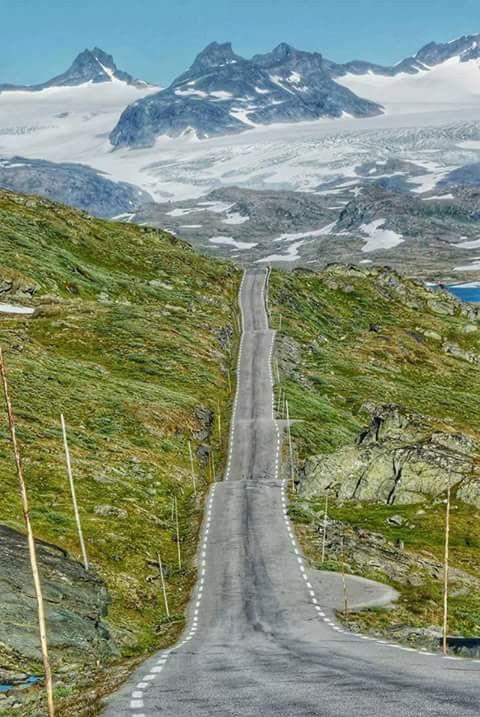 Sognefjellsvegen Norway