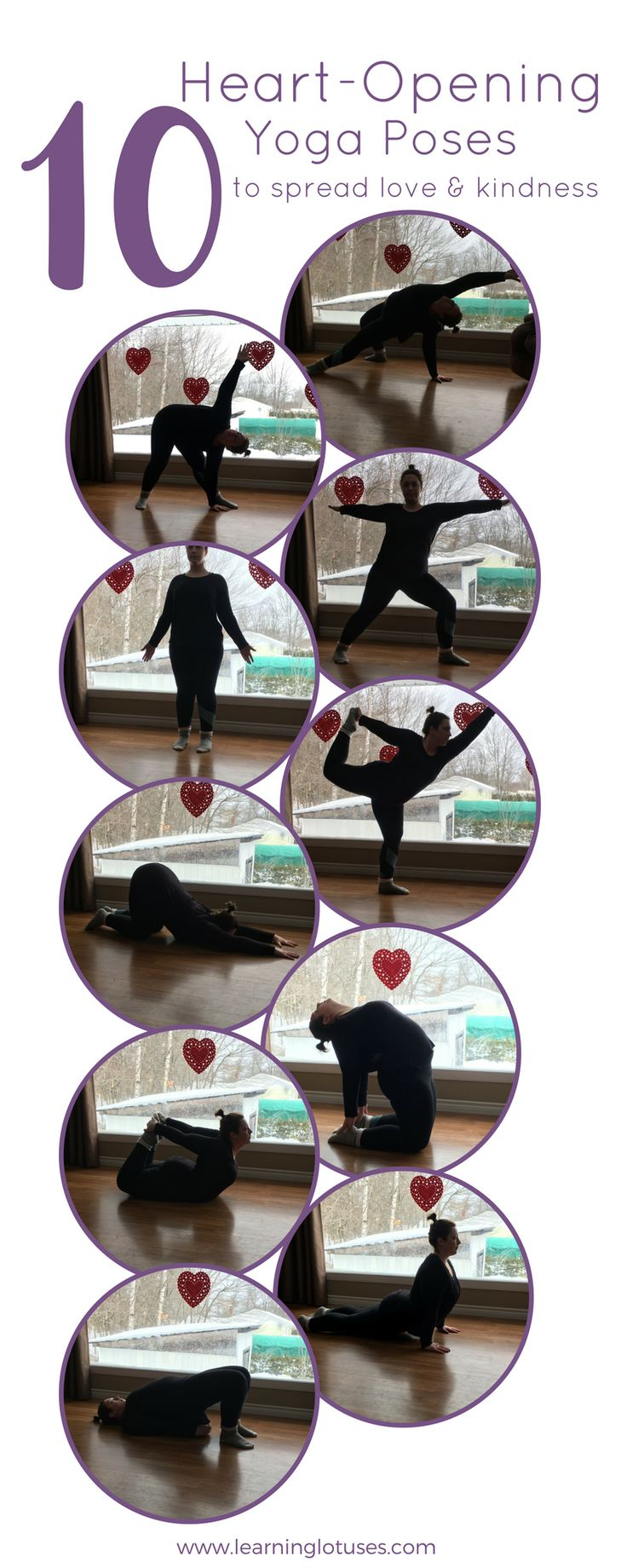 Heart Opening Yoga Poses to Spread Love & Kindness