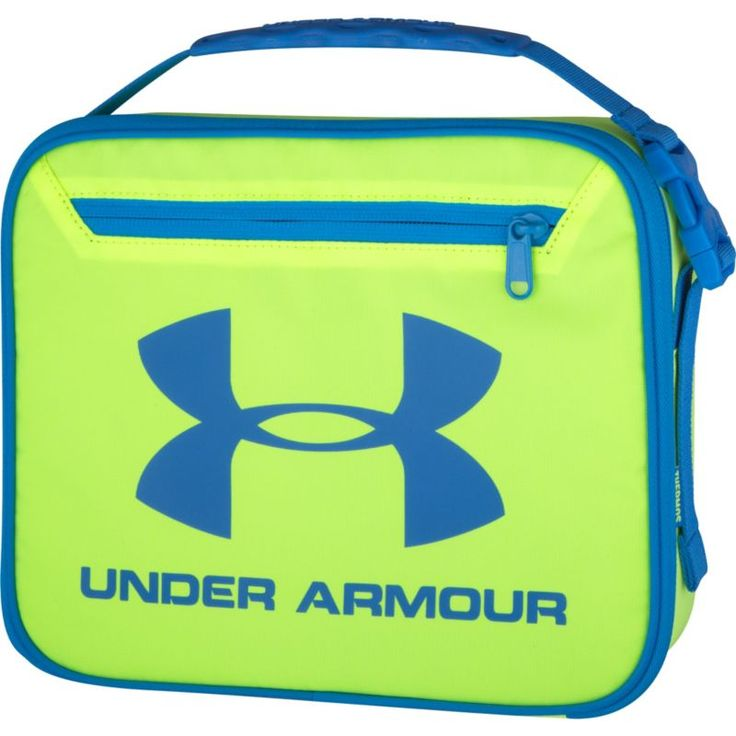 Under Armour Boys' Lunch Box, High Vis Yellow