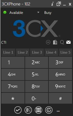 3CXPhone for Windows Client version 12 http://jomar.cc/3cxphone/
