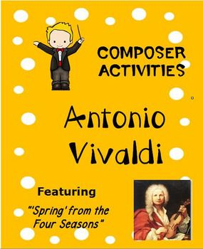 *** $5.00 *** Overview: This product is a curriculum integration tool incorporating music, history, math and writing for 2-5th. The lesson is built around students learning some facts about Vivaldi, identifying and singing a musical theme with original fun lyrics and writing creative narratives.