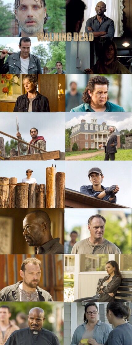 The Walking Dead, Season 7, episode 8, (midseason finale) ''Hearts Still Beating''