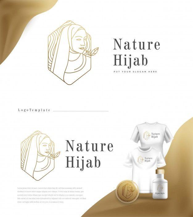 Download Luxury Nature Logo Hijab Fashion For Free Natural Logo Hijab Fashion Vector Free