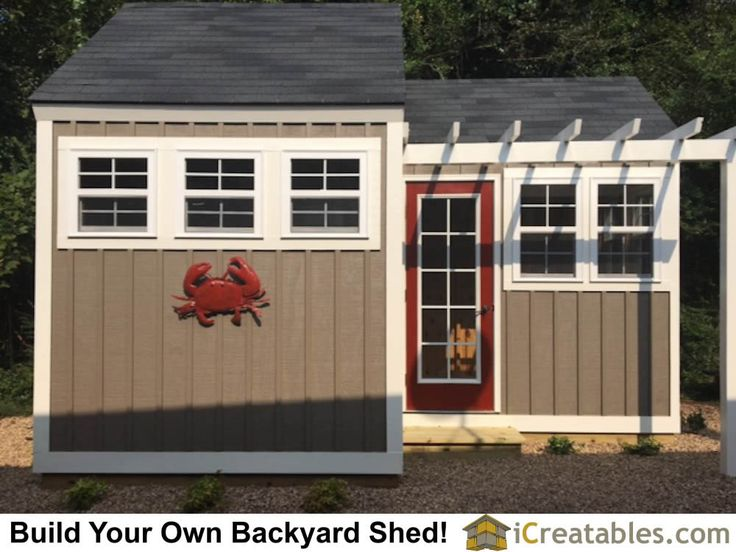 9 best 10x20 Shed Plans images on Pinterest Shed plans Building