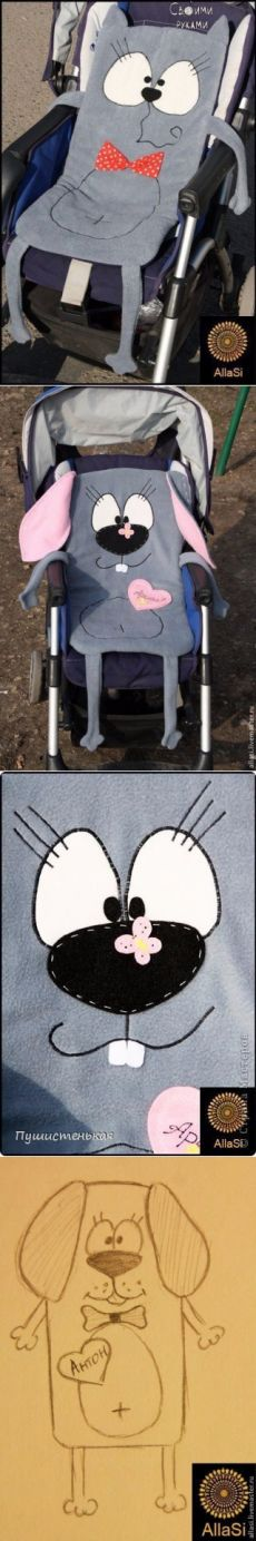 Матрасик в коляску. | шитье |