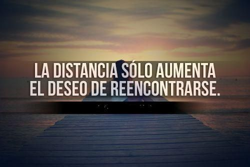 Frases De Amor A Distancia: Para Un Amor En La Distancia..
