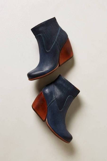 Michelle Booties by Kork-Ease.i mean how many people have wicked blue  booties named after themselves?