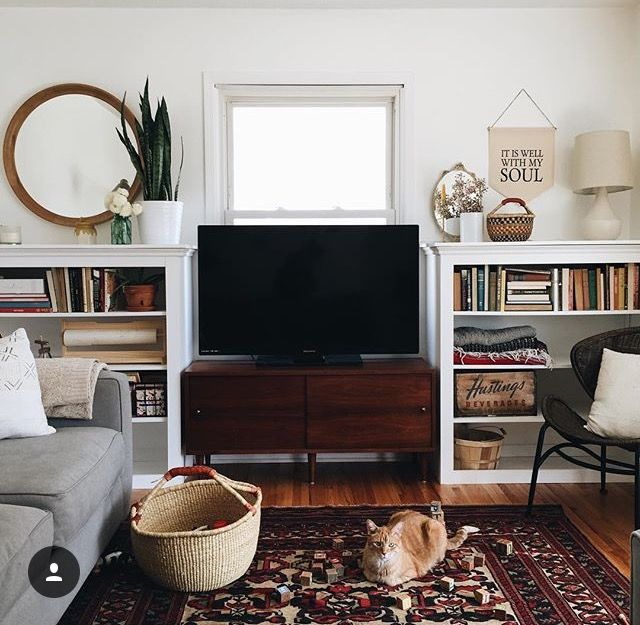 Tv placement in living room