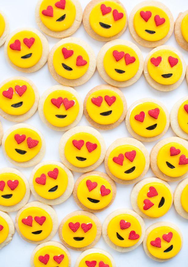 hello, Wonderful - EASY MINI HEART EMOJI SUGAR COOKIES