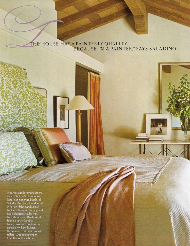 california spanish colonial style bedroom
