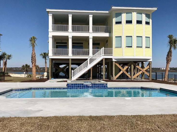 House vacation rental in Sunset Beach, NC, USA from VRBO.com! #vacation #rental #travel #vrbo