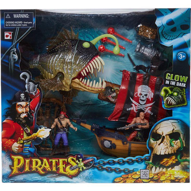 Quot Chap Mei Quot Pirates Black Devil Anglerfish Playset Tk