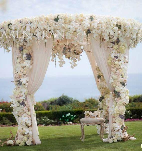 garden wedding centerpiece ideas