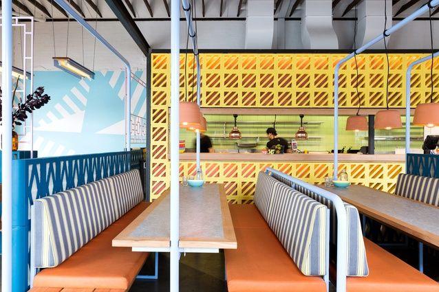 Fonda Hawthorn by Technē Architecture + Interior Design, shortlisted for Best Restaurant Design.