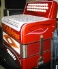 """A Weltmeister accordion """"Pimped by Paul"""" from the Reyes Accordions website. Customizing is an important part of accordion culture North and South of the border."""