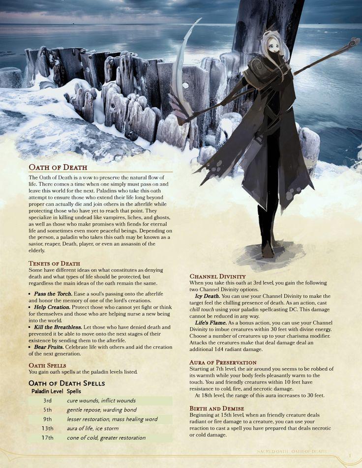 Oath of Death Paladin by GetShiggyWithIt