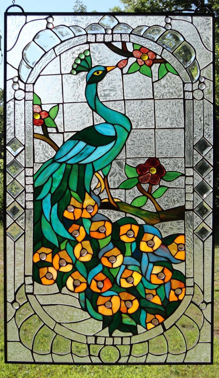 199 best images about stained glass on pinterest for Art glass windows