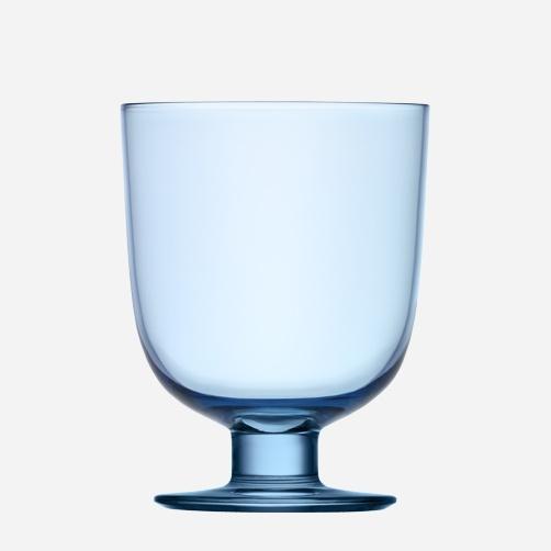 iittala Lempi Glass 34 cl light blue Designer Matti Klenell