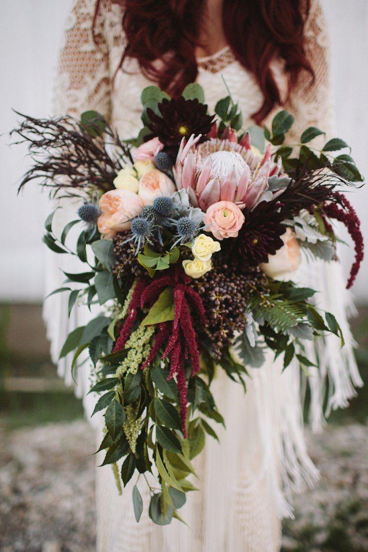 boho wedding bouquets