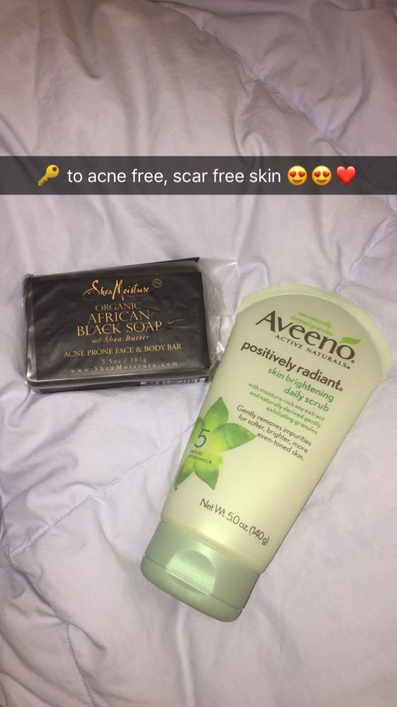 AFRICAN BLACK SOAP IS REALLY GOOD FOR – ACNE & DAR…