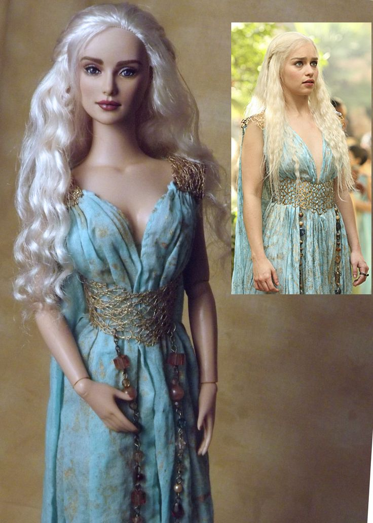 Game of Thrones Daenerys OOAK Doll by ShannonCraven.deviantart.com
