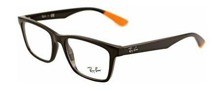 Okulary męskie Ray-Ban RX7025 55 5417 jest to model o ciekawej kolorystyce pomarańczowo czarnej. Pełna oprawa okazała się ostatnio bardzo modną szczególnie wśród młodzieży.