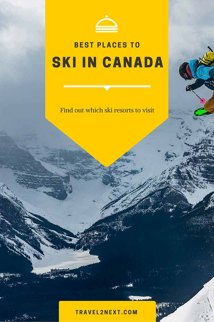 Why you'll love skiing in Canada.