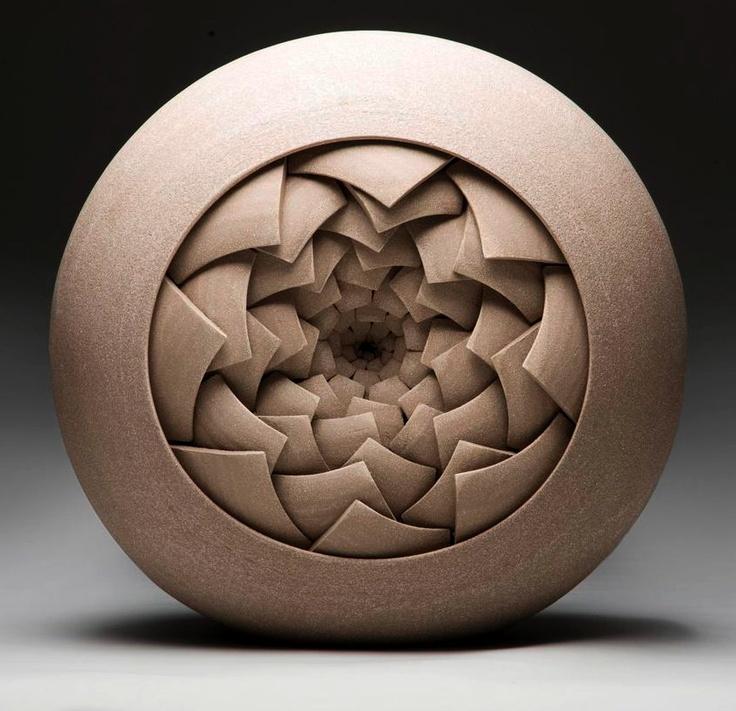 3dprinting Sculpture Artist: Matthew Chambers. Abstract Contemporary Ceramic Sculptures