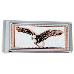 Eagle Money Clip Rectangular