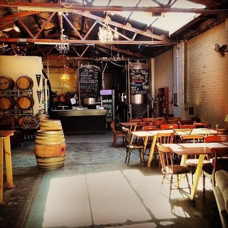 Moon dog brewery bar