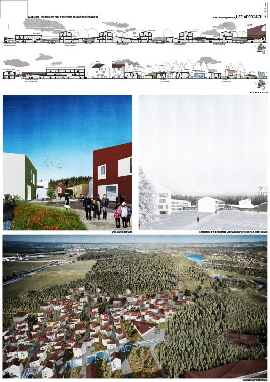 EUROPAN13 winning project Landsberg Germany Living with(in) nature