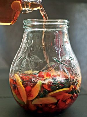Rumtopf: Preserve fruit with rum for a fun holiday treat. | From Organic Gardening