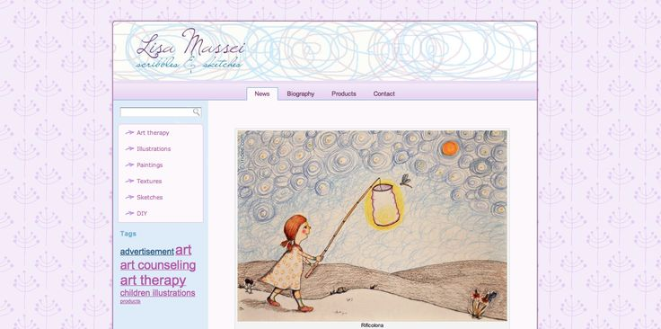 My website about art and illustration- Lisa Massei