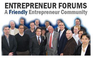 Image from the Entrepreneur Forums on the EvanCarmichael.com website, a friendly entrepreneur community.