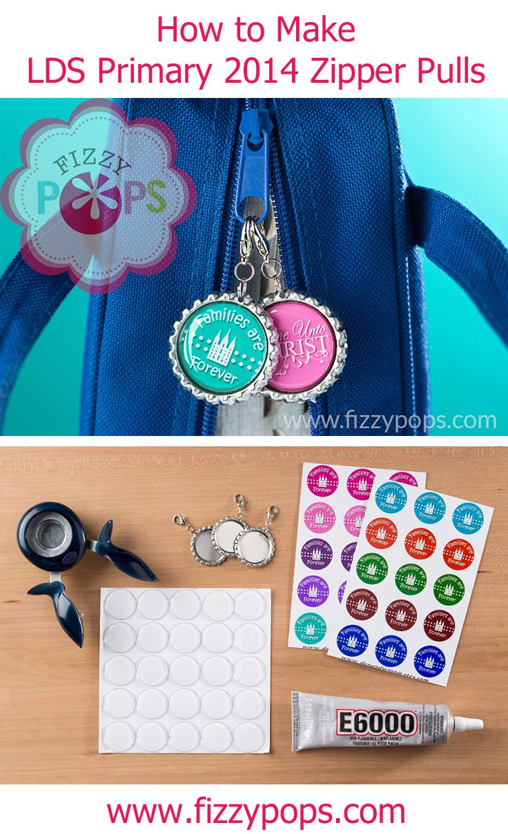Fizzy Pops zipper pulls are a perfect way to feature the annual Primary theme, so we can see why they are so popular year after year for Primary birthday gifts! They are simple and fun to make and cost well under $1 each.