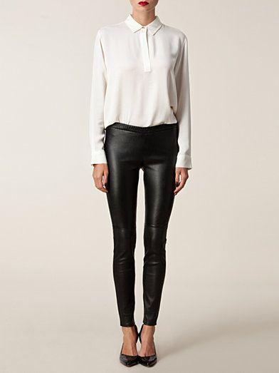 Luxury Legging - Michael Michael Kors - Svart - Byxor & Shorts - Kläder - Kvinna - Nelly.com