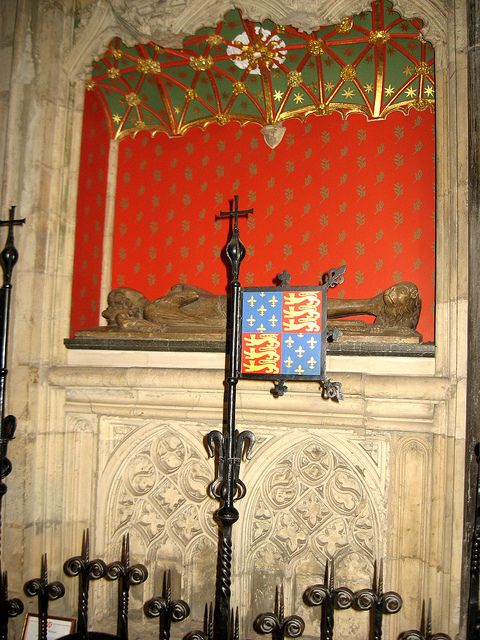 Tomb of Prince William of Hatfield, son of Edward III and Queen Phillipa