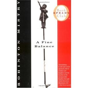 """""""I've never encountered pages that took me so far, and removed me from my own way of life and way of thinking the way 'A Fine Balance' did. Rohinton [Mistry] has been compared to Dickens in his finest years when he was able so profoundly to look at the human spirit juxtaposed against inhumane conditions.""""--Oprah"""
