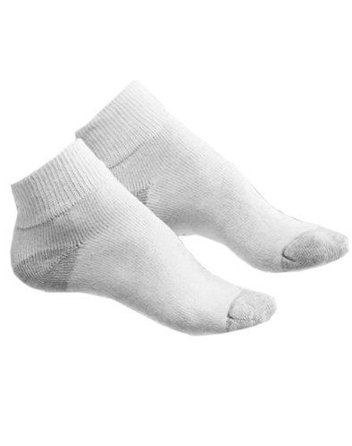 Hanes Cushioned Women's Athletic Socks - Ankle Length 10-Pack # 681/10 $8.99