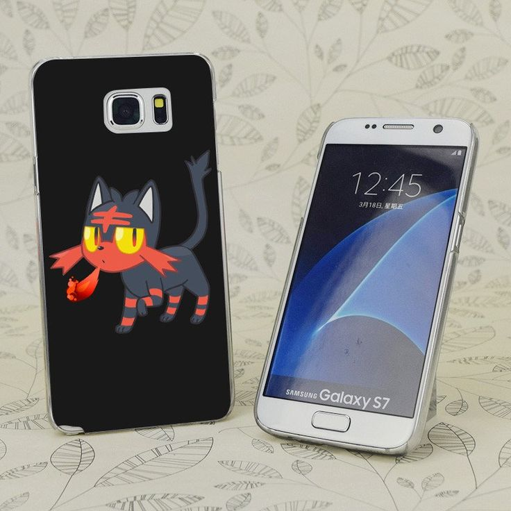 Litten Poke Hard White Case for iPhone