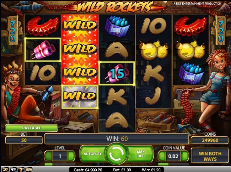 Spielen Sie Wild Rockets online gratis http://www.online-kasino-spielautomaten.com/spiele/spielautomaten-wild-rockets #wildrockets  #onlinekasinospielautomaten #spiele